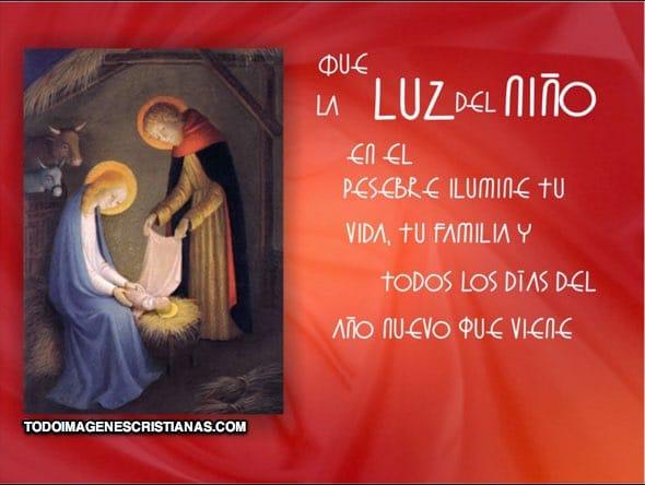 tarjetas cristianas de navidad