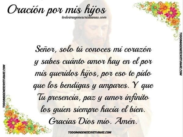 oracion dios hijos