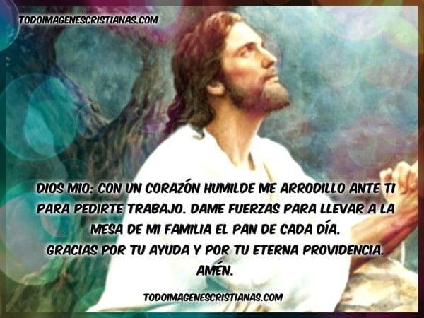 oracion cristiana conseguir trabajo