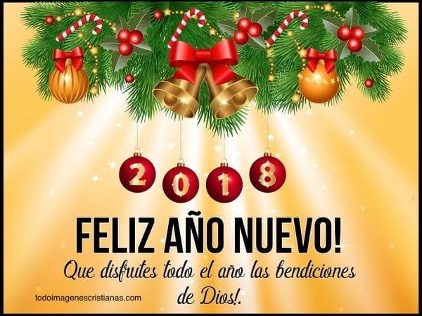 feliz ano nuevo cristiano