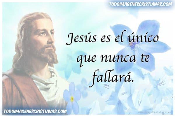 Imagenes de Jesus no falla