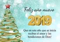 +10 Modelos e imágenes de año nuevo 2019 para descargar gratis