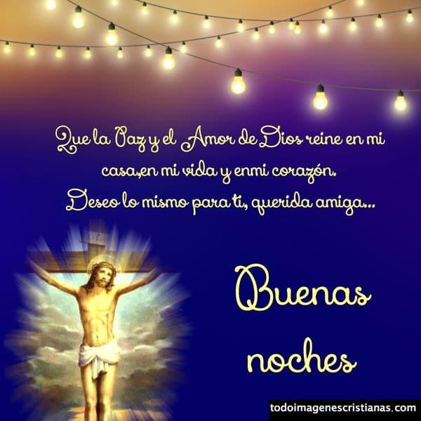 imagen buenas noches cristiana