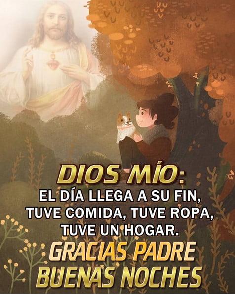 Imágenes buenas noches cristianas