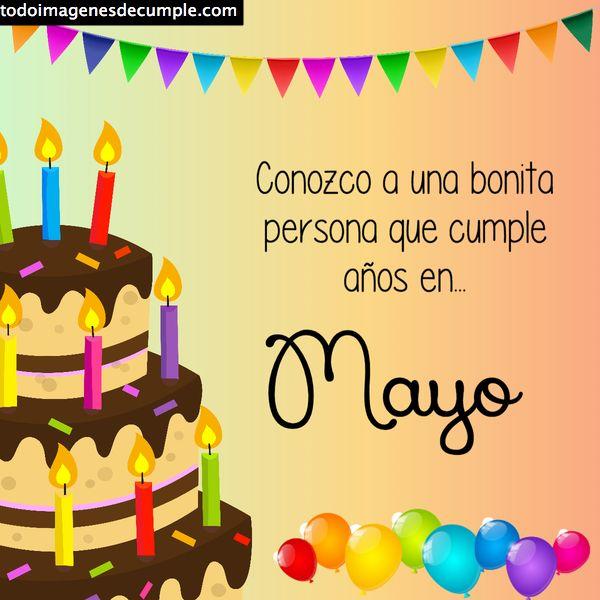 cumpleaños Mayo