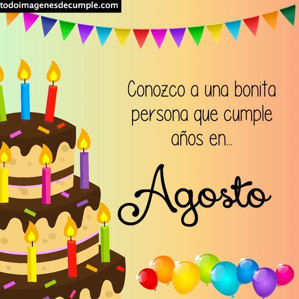 cumpleaños agosto