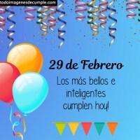 Descargar gratis imágenes de feliz cumple con los días de Febrero