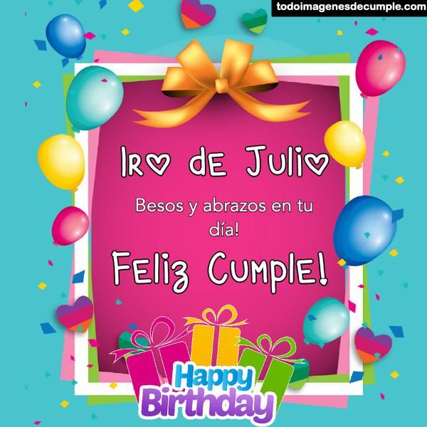 feliz cumpleaños 1 de julio