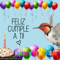 Imágenes de cumpleaños con pájaros lindos
