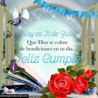 Imágenes de Feliz Cumpleaños mes de Julio para descargar gratis