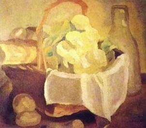 Stillife / 1921 / oil / 46×53cm
