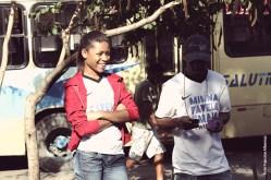 Documentario Todo Mapa tem um discurso - Credito foto Francine Albernaz (2) - Paloma e Leo da XII em Morro Agudo