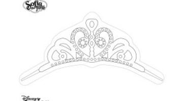 Banderin De Princesa Sofia Para Imprimir Y Colorear Todo Peques