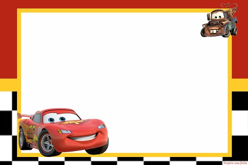Imprimibles De Cars Gratis Para Cumplea 241 Os Todo Peques