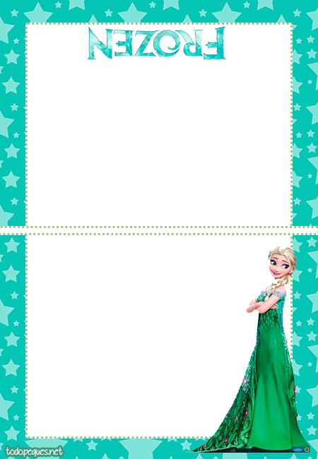 Frozen 2 invitaciones tarjetas