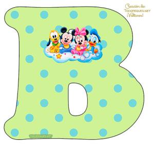 Disney Babies Alphabet Letters