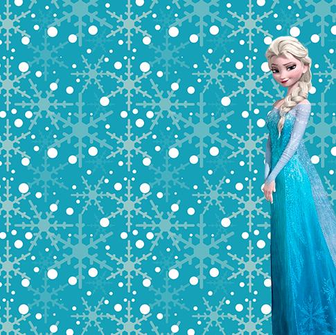 Marcos de Elsa Frozen Invitaciones