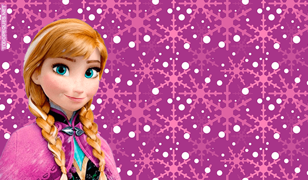 Stickers de Frozen Anna