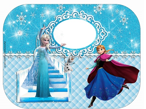 Kit imprimible de Frozen para descargar gratis