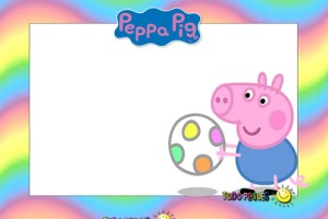 Etiquetas Stickers Peppa Pig George Pig