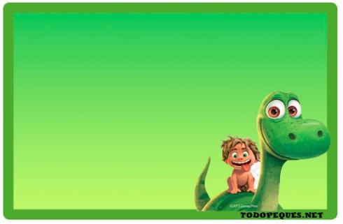 Etiquetas escolares Un Gran Dinosaurio imprimibles gratis - Imprimibles gratis de Un Gran Dinosaurio - Stickers Un gran Dinosaurio