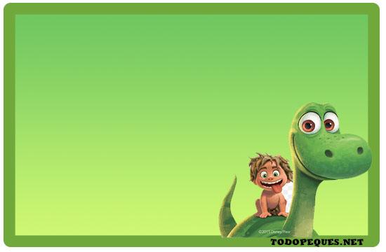 Un Gran Dinosaurio Tarjetas Todo Peques