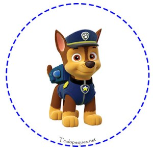 Stickers Chase Paw Patrol