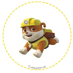 Stickers rubble Paw Patrol
