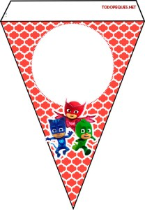 Pj Masks decoracion