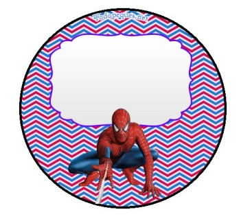 Stickers Spiderman - Etiquetas Spiderman - Toppers Spiderman - Imprimibles Spiderman cumpleaños