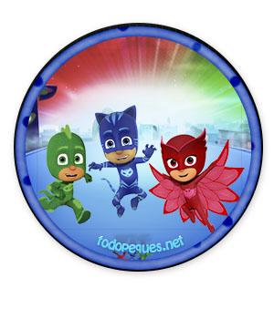 Heroes en Pijamas imagenes gratis - descargar stickers pj masks - descargar etiquetas pj masks