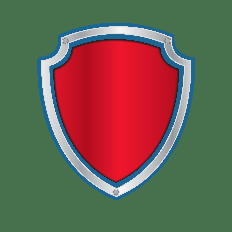 letras y numeros de paw patrol con logo para editar y