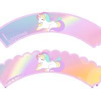 Kit Imprimible de Unicornios para descargar y personalizar gratis