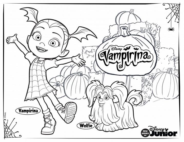 Vampirina Dibujos Para Imprimir Y Colorear Todo Peques
