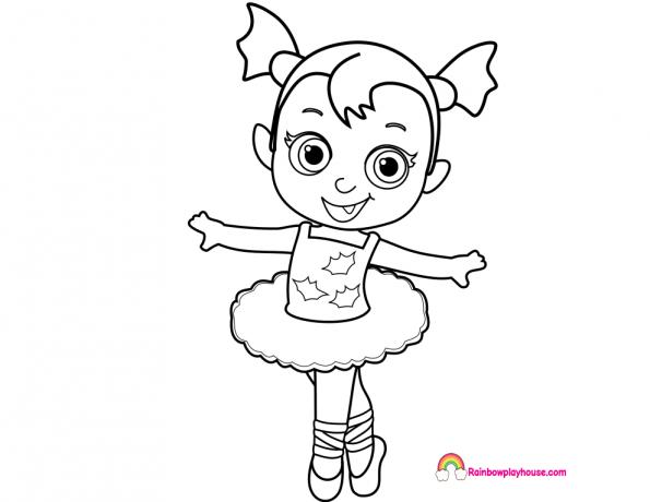 Dibujos Para Colorear Disney Para La Y Dibujos Para: Vampirina Dibujos Para Imprimir Y Colorear