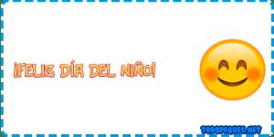 Feliz dia del nino emoji