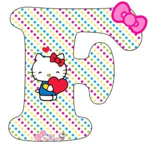 hello kitty alfabeto