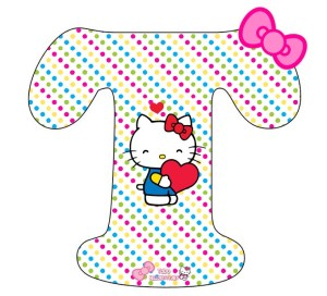 hello kitty letters
