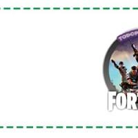 Etiquetas escolares Fortnite para imprimir