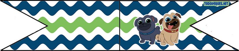 adornos puppy dog pals - bingo y rolly adornos cumpleanos - bigo y rolly imprimibles - Puppy dog pals printables birthday party