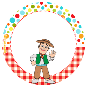 zenon granja stickers circulares - etiquetas redondas granja de zenon