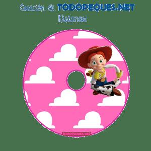 Letras Jessy Toy Story para imprimir