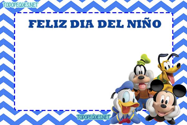 Tarjetitas Feliz Dia del Nino