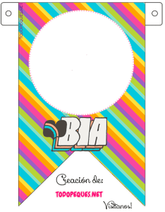 Banderines de BIA Disney decoracion