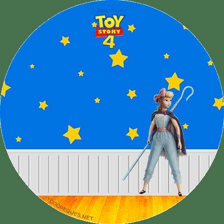 Etiquetas Toy Story 4 para descargar