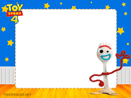 Forky Stickers Toy Story 4