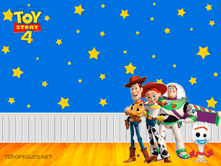 Toy Story 4 Stickers para imprimir