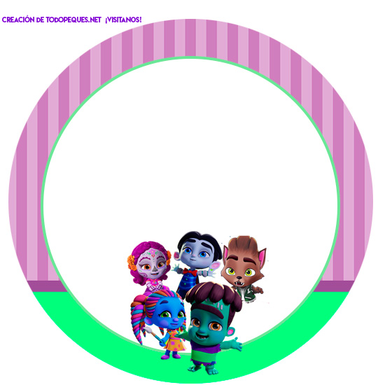 Super monsters free printables birthday party