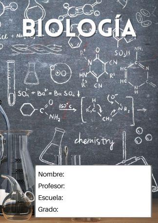 portada para biología