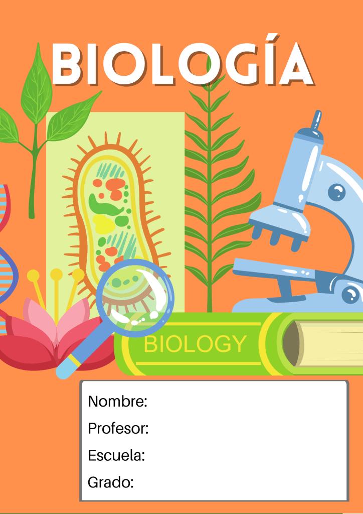 portada de biología